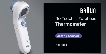 Infrared Thermometer for Humans