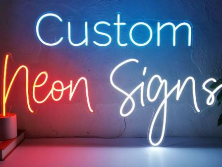 Neon Light Signs for Home