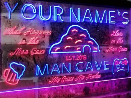 Neon signs for Man Cave