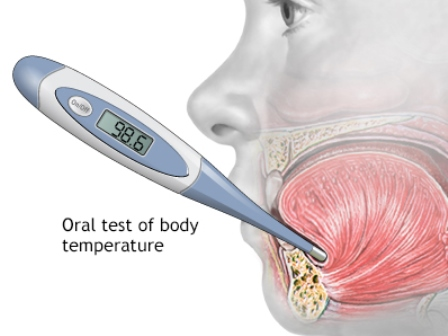 When was the medical thermometer invented