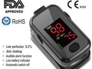 FDA approved pulse oximeter