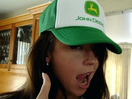 John Deere women's hats