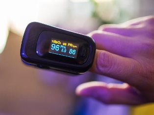 Normal pulse rate in Oximeter