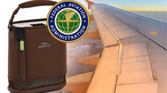 what portable oxygen concentrator are approved by the faa