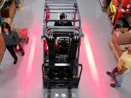 Standard Operating Procedure for Driving a Forklift