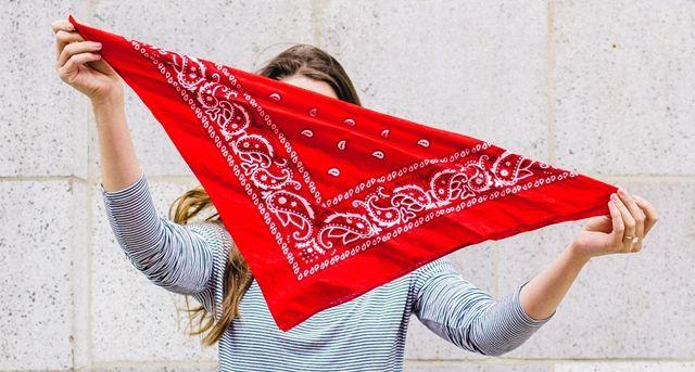 Large bandanas made in USA