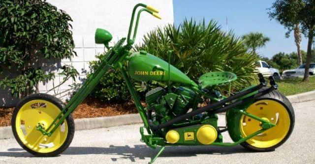 John Deere motorcycle