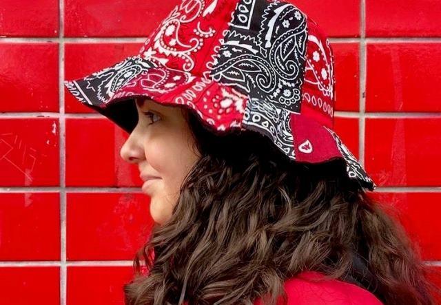 Bandana Bucket Hat