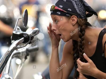 Biker bandanas How to tie?