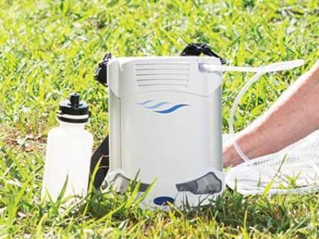 Continuous Flow Portable Oxygen Concentrator