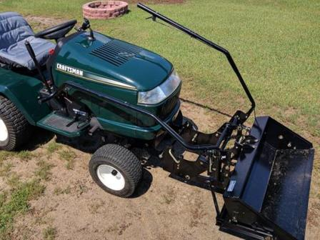Electric front end Loader for Garden Tractor