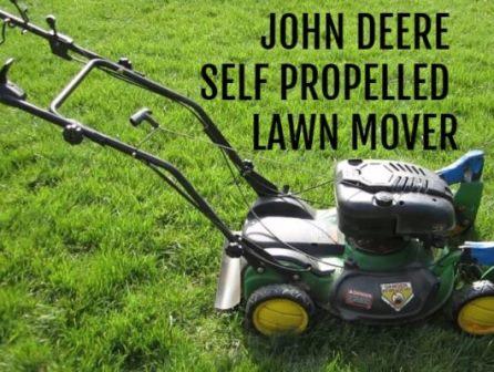 John Deere Self propelled Lawn Mower