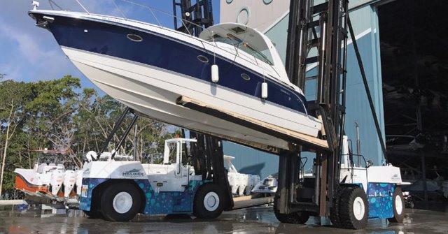 Marine forklift for Sale:
