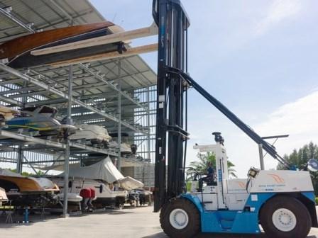 Boat Forklift for sale