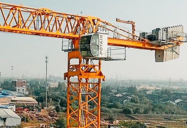 Tower Crane Boom Length
