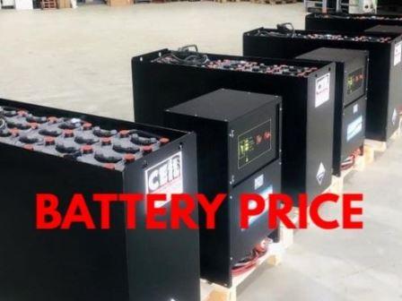Forklift Battery Price