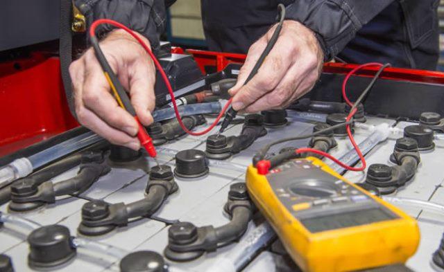 Forklift Battery Repair
