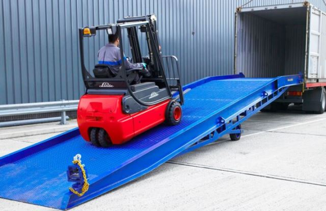 Forklift Container Ramps for Sale