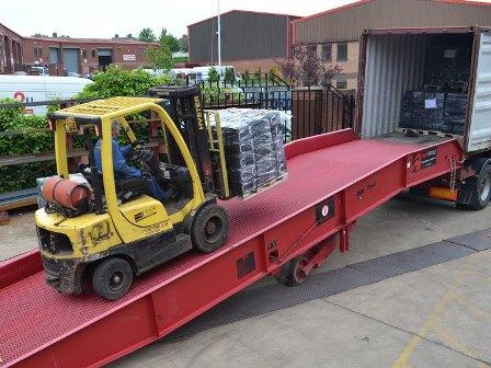 Forklift Yard Ramp