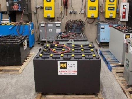 Forklift Battery Service and Maintenance