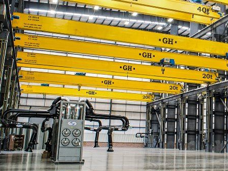 Overhead crane manufacturers in the USA