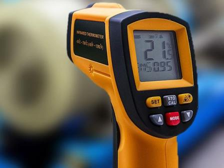 Non contact Infrared Thermometer for Body Temperature